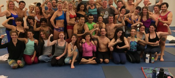 Yoga with the Champions, final day